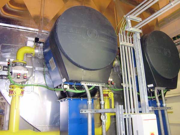 quemadores industriales en planta de ciclo combinado de Iberdrola-Lituania - E&M Combustion