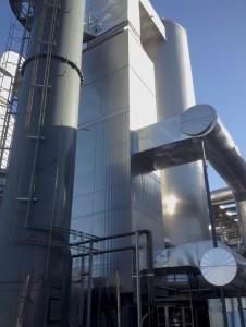 Salida recirculacion de gases desde precalentador caldera | E&M Combustion