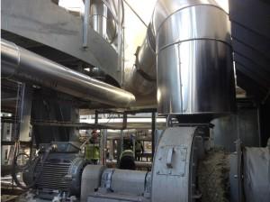Flue gas recirculation fan | E&M Combustión | burners