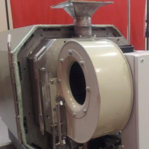 sistema de regulación en quemador de pellet, biomasa