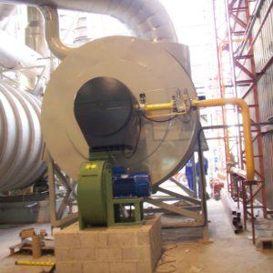 Camaras de Combustion | Generadores de gases calientes | Quemadores industriales