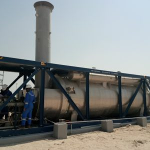 E & M Combustion ATEX Burner at Oilfield of Al-Jahr, Kuwait