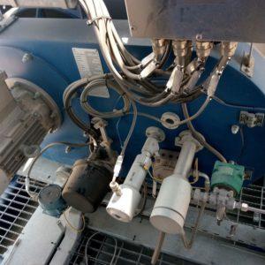 Quemador ATEX de E&M Combustion en la planta petrolifera Al-Jahra, Kuwait