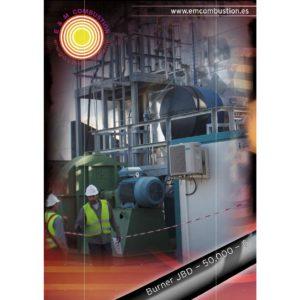 Quemador JBD | Quemadores industriales | E&M Combustion