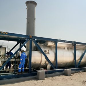 Heater | Oil and Gas industry | EX Burner | Oilfield of Al-Ahra, Kuwait | E&M Combustion