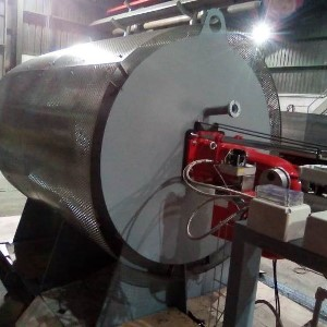 Hot Gas Generator For A Cement Plant Burners