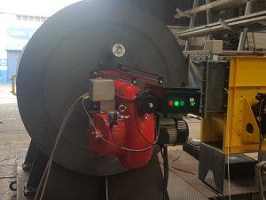 Generador de gases calientes | planta aridos | camara de combustion