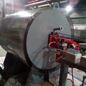 Generador de gases calientes para cementera | Quemadores | Camara de Combustion | E&M Combustion
