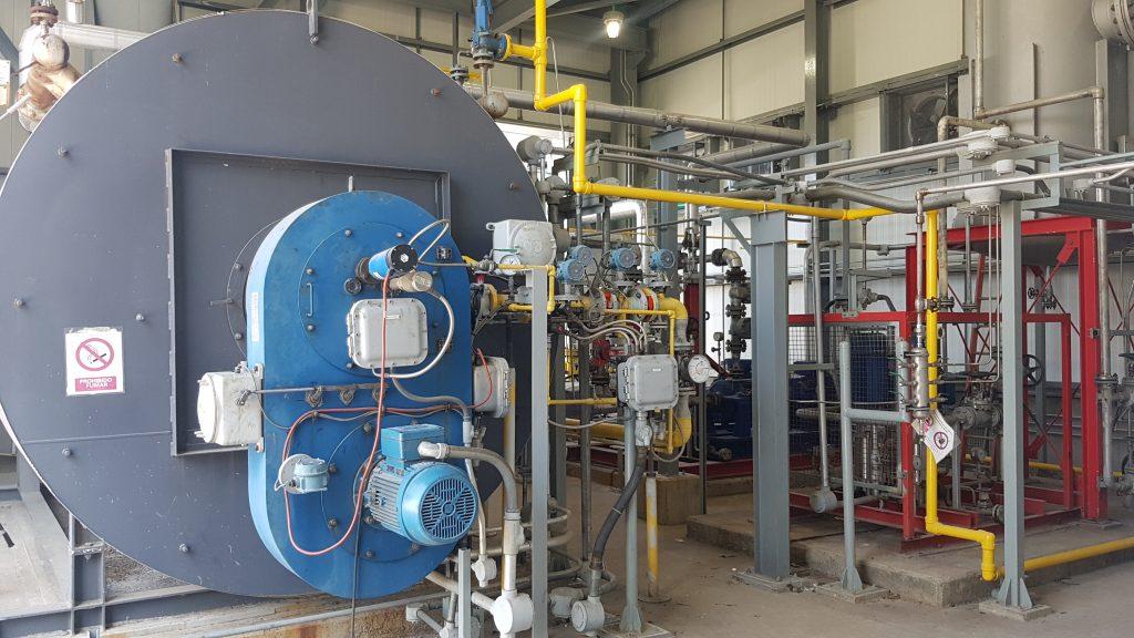 Quemadores industriales NEC en AT3 Abengoa | E&M Combustion