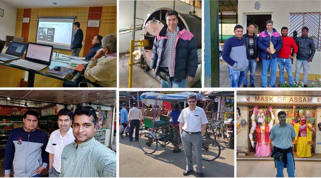 Assam guia del viajero de negocios | Industria petrolifera  | India | E&M Combustion