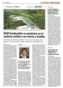 Sistemas de Combustion Industrial | E&M Combustion