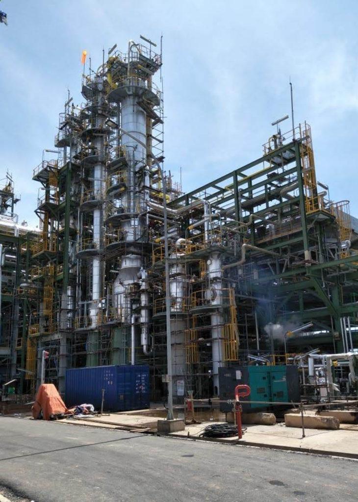 Refineria de caucho, Batam | E&M Combustion