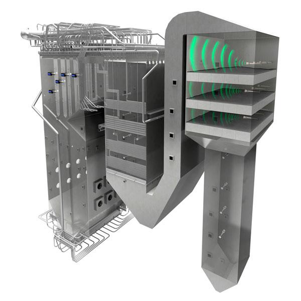 Sistemas de limpieza acustica | E&M Combustion