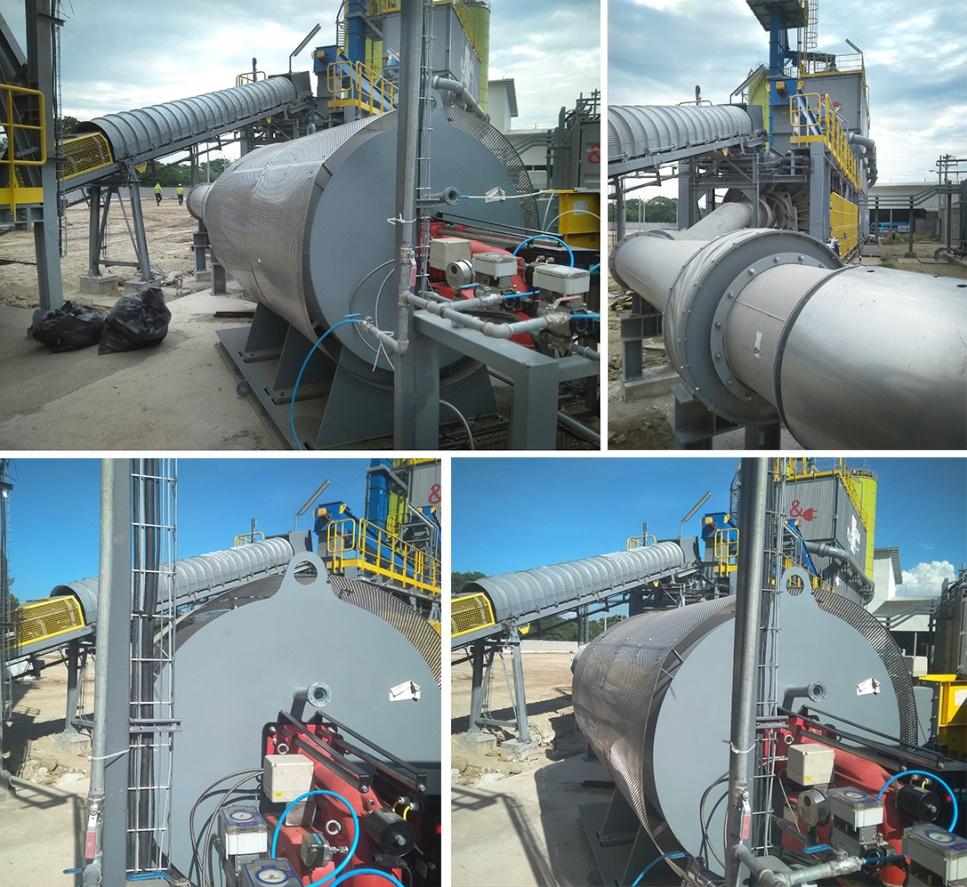 Camara de combustion en una planta de cemento | Optimizacion del proceso de produccion de cemento | E&M Combustion