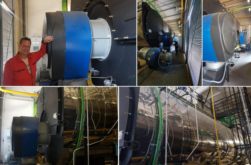 Quemadores ultra Low Nox en una planta cervecera | E&M Combustion