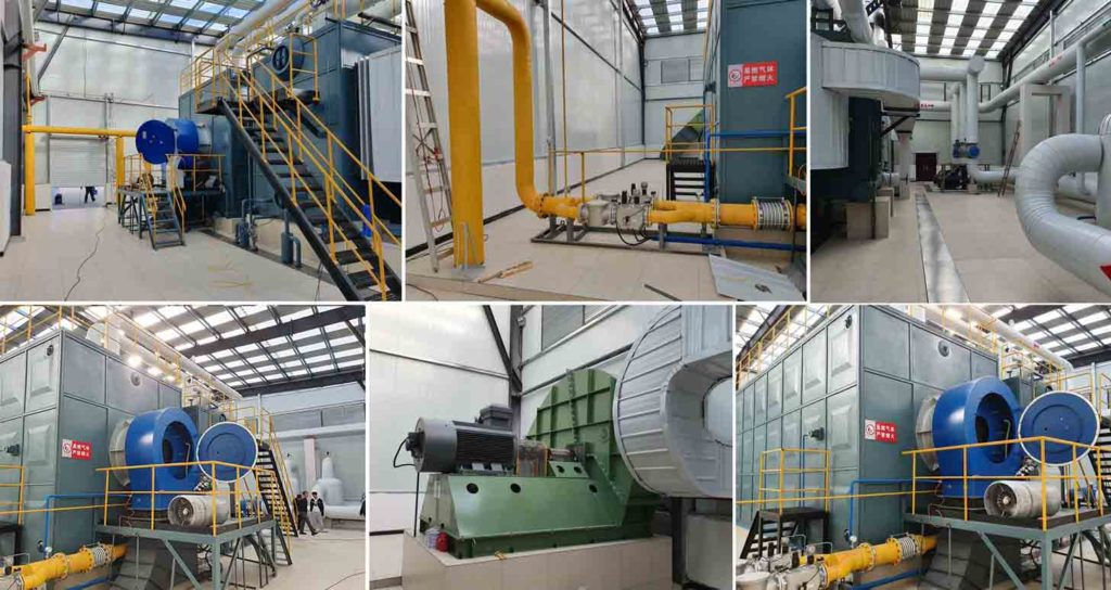 Low NOx District Heating in China - E&M Combustion