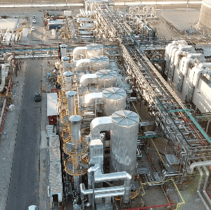 The most impressive images of the Ashalim Thermosolar Power Plant from a drone view