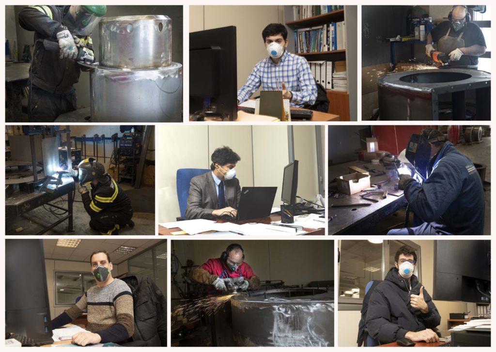 E&M Combustión reactiva la produccion normal de su planta | Equipos de Combustion
