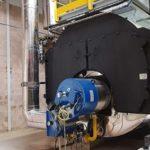 Instalacion de generacion de vapor industrial - E&M Combustion