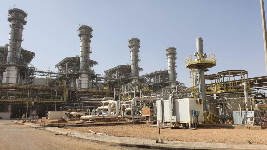 Planta hibrida solar-gas Waad Al-Shamal - Equipos de Combustion - E&M Combustion