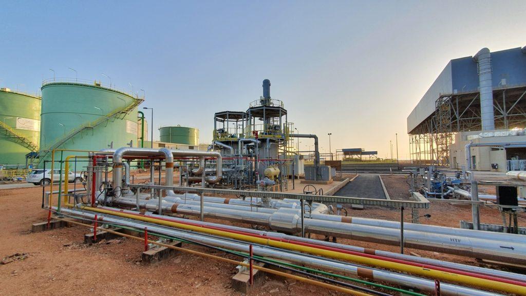 Waad Al-Shamal hybrid solar-gas plant - Combustion Equipment - E&M Combustion