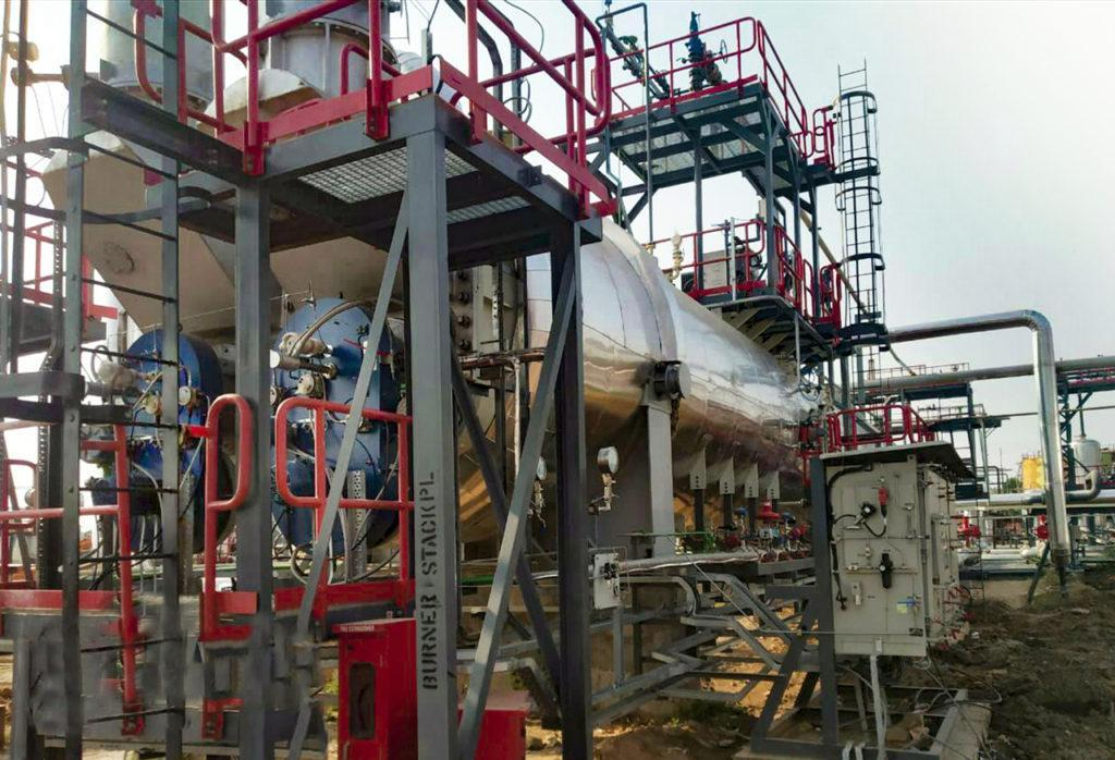 Indirect Bath Heaters for refineries. ATEX Burners. E&M Combustion