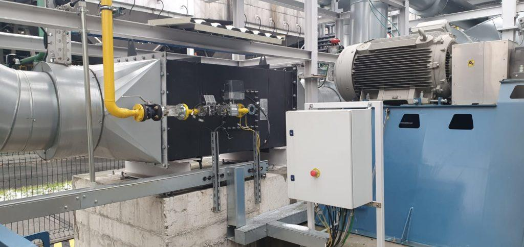 Regenerative Thermal Oxidizers - Air Draught Burners- E&M Combustion