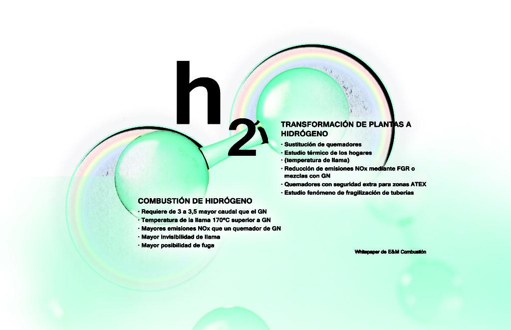 Quemadores y sistemas de combustión de hidrogeno - E&M Combustion