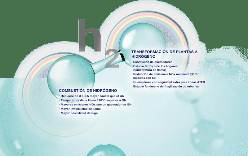 Sistemas de combustion de hidrogeno - E&M combustion