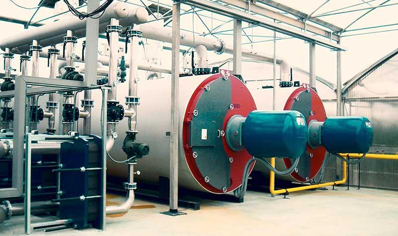 Quemadores de hidrogeno - Sistemas de combustion de hidrogeno - E&M Combustion