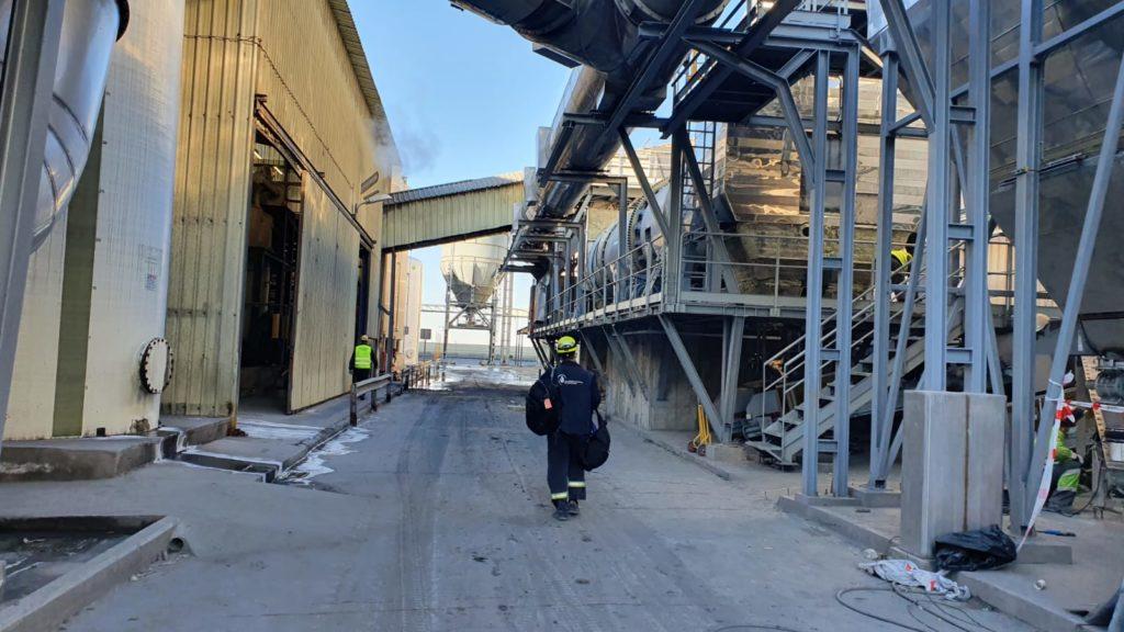 Planta de reciclaje de residuos de aluminio - Quemador de vena de aire para el tratamiento de escorias de aluminio - E&M Combustion