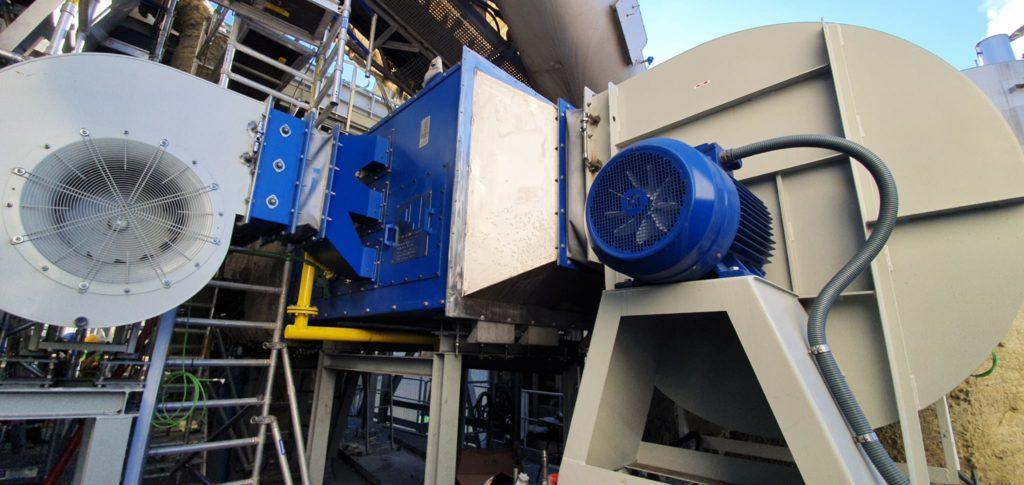 E&M Combustión instala un quemador de vena de aire para el tratamiento de las escorias de aluminio