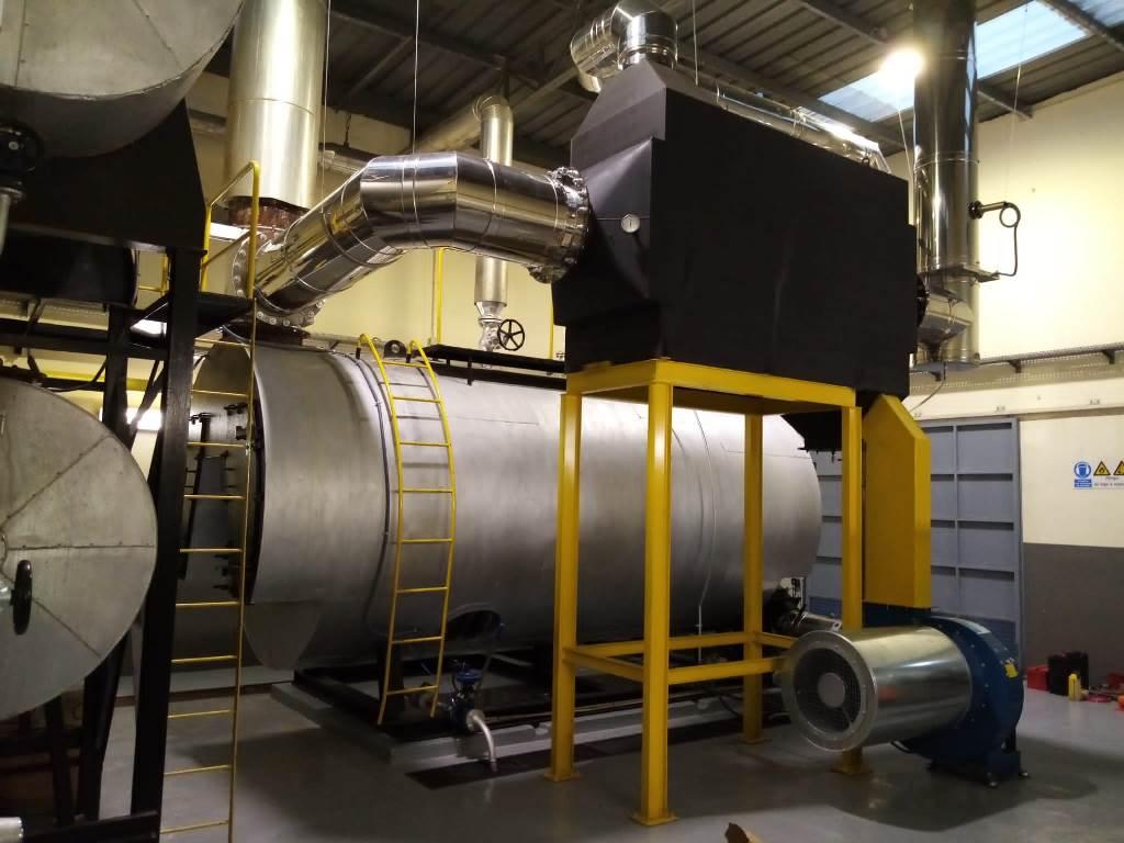 Precalentadores de aire - Eficiencia Energetica- Reutilizacion de energias desaprovechadas - E&M Combustion
