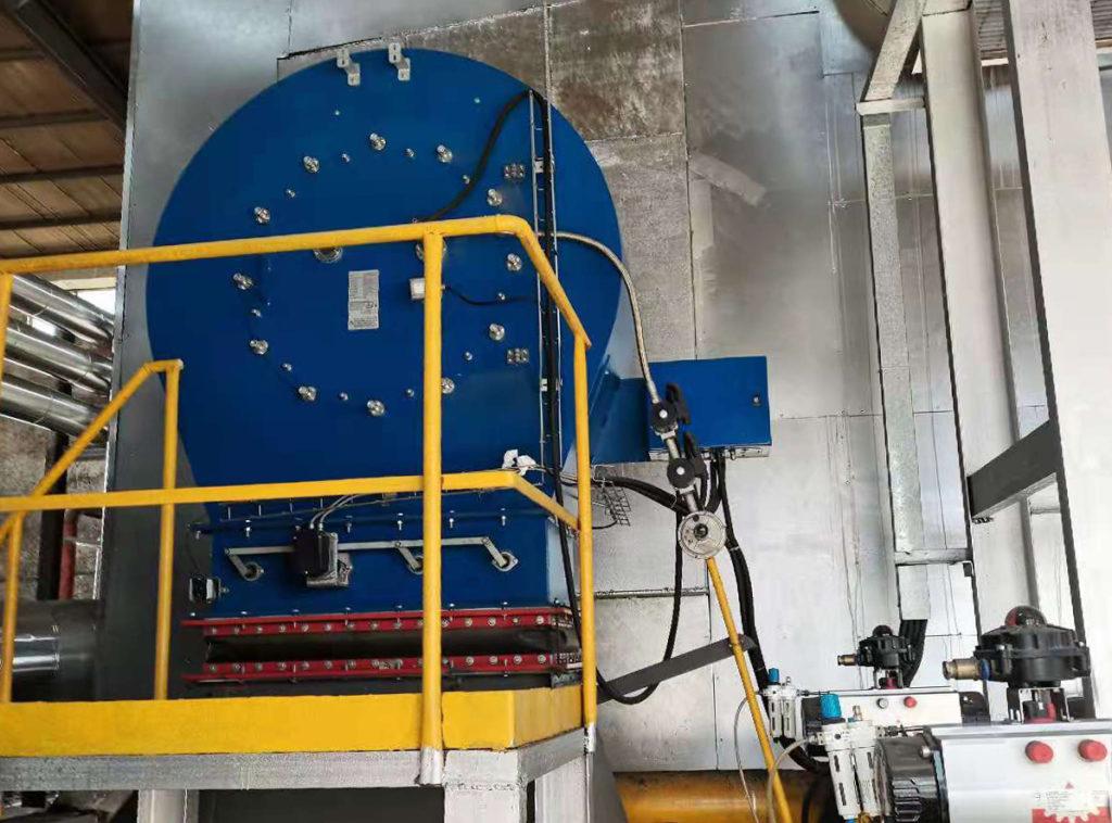 Quemadores industriales Low NOx - planta textil - E&M Combustion